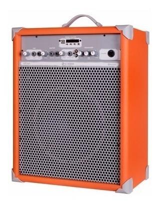 Caixa De Som Amplificada Multiuso Up!10 Ora Fm/usb/bluetooth