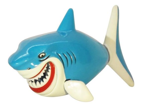 Juguete Para El Baño Tiburón A Cuerda Para Bañadera