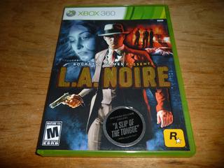 La Noire Para Xbox 360