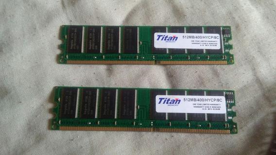 Memoria Ram Titan 512mb/400/hycp/8c Premium