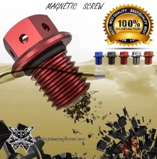 Parafuso Bujao Magnético +anel Do Câmbio Clio/duster/megane