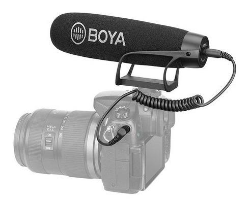 Microfone Super Cardioid Shotgun Boya By-bm2021