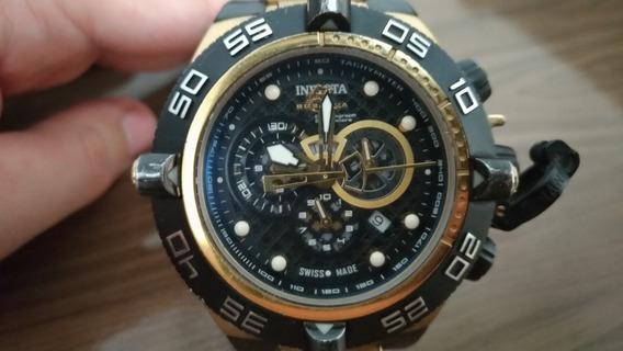 Relógio Masculino Invicta Dourado Modelo 6583