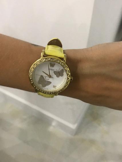 Relógio Guess Troca Pulseira U10553l1 *bom Estado* Importado