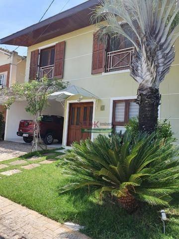 Imagem 1 de 19 de Linda Casa Em Condomino Em Bairro Previlegiado Em Jacareí - Ca6046