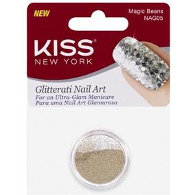 Glitter Kiss Ny Decoração De Unhas Magic Beans Nag05