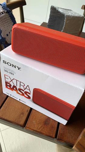 Caixa De Som Sony Bluetooth Xb3