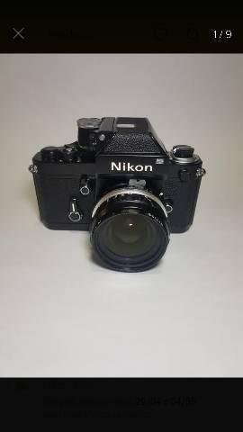 Nikon F2 - Somente O Corpo + Case De Couro