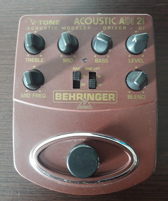 Pedal Behringer Acoustic Adi 21