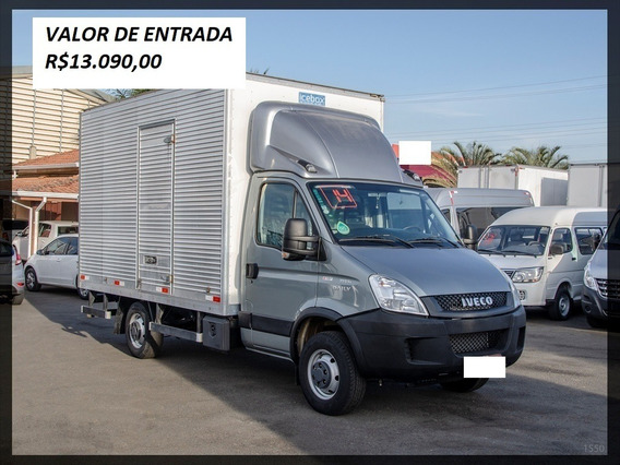 Iveco Daily 35s14 Ano 2014 Baú