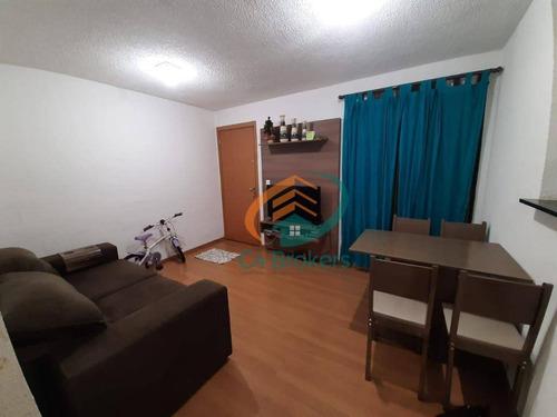 Imagem 1 de 14 de Apartamento Com 2 Dormitórios À Venda, 47 M² Por R$ 170.000,00 - Água Chata - Guarulhos/sp - Ap1794