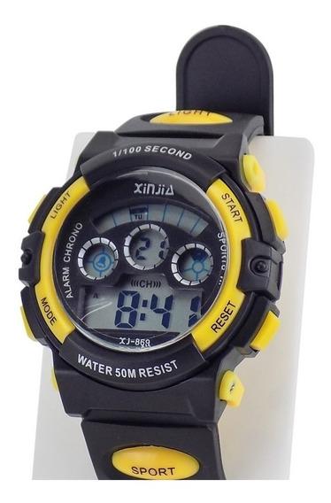 Relógio Digital Masculino Sport Original Prova D