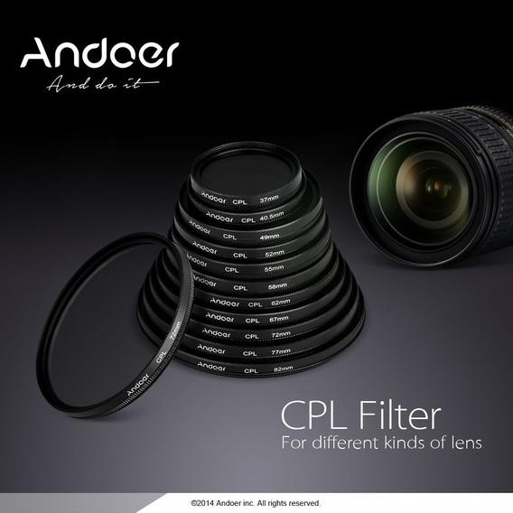 Gd Andoer 58mm Digital Slim Cpl Circular