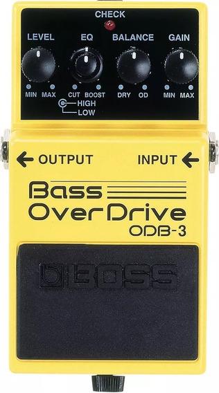 Pedal Boss Odb 3 Bass Overdriver Para Baixo Odb3