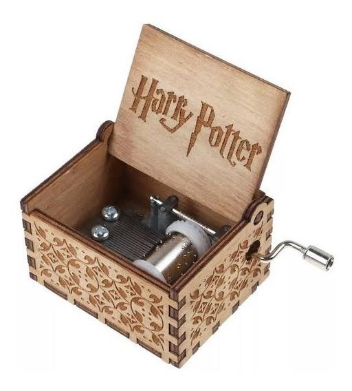 Caixinha De Música Harry Potter Com O Tema Do Filme Mecânica