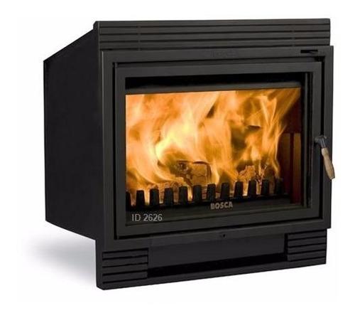 Calefactor Inserto A Leña Bosca Chimenea 1100 Pot. 30 Kw