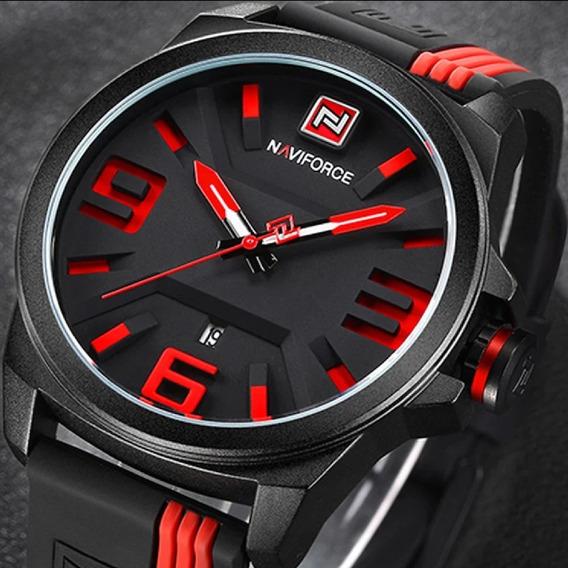 Relógio Masculino Naviforce Original Modelo 9098