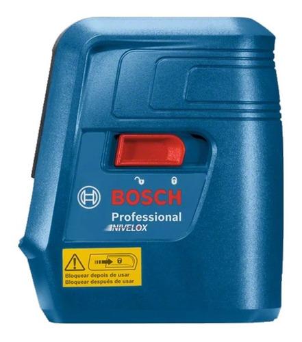 Imagem 1 de 5 de Nível Laser De Linhas Bosch Nivelox Gll 3 X Professional