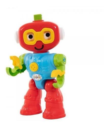 Imagem 1 de 4 de Brinquedo Infantil Educativo Robo Play Com Som - Maral