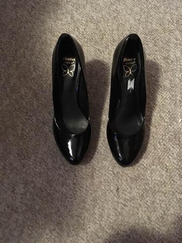 1f3ec4b0 Zapatos De Charol Taco Alto Mujer - Calzados en Mercado Libre Chile