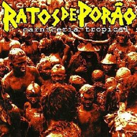 Cd Ratos De Porão - Carniceria Tropical