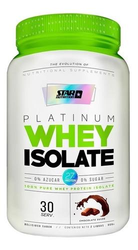 Proteina Whey Isolatada  Star Nutrition Zona Sur