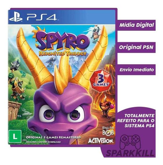 Jogo Spyro 3 Em 1