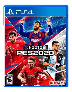 Pes 2020 + Póster Pro Evolution Soccer 20 Ps4 Preventa
