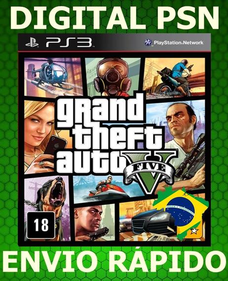 Gta 5 Grand Theft Auto V Cod Psn Ps3 Envio Rapido