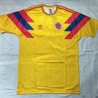 Camisa adidas Originals Retrô Colômbia 1990