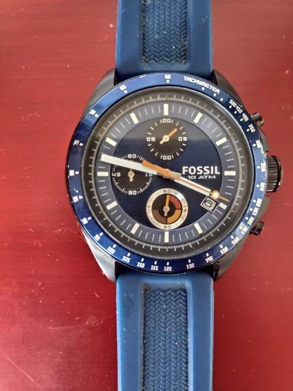 Relógio Fossil Original Azul