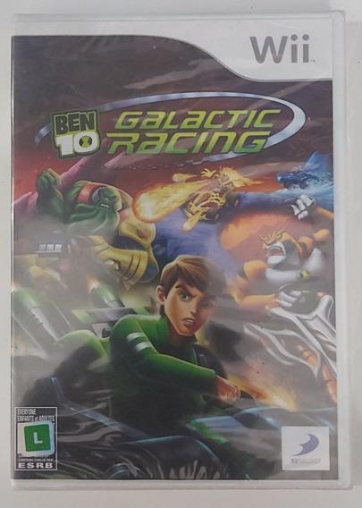 Jogo Ben 10 Galactic Racing Nintendo Wii - Original-lacrado