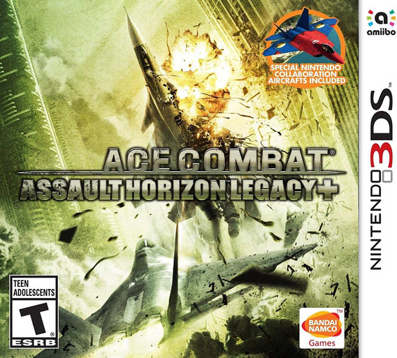 Ace Combat: Assault Horizon Legacy + - 3ds