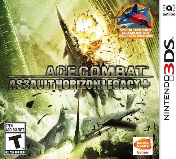 Ace Combat: Assault Horizon Legacy + - 3ds