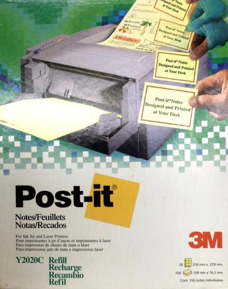 Notas Adhesivas 3m Post-it 108x76mm 60 Notas 10h Carta E8020