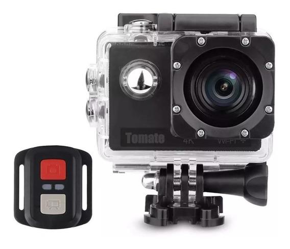Câmera Ação 4k Wifi Mt1091+cartão 32gb+bateria Extra+ Brinde