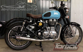 Pont Torbal Royal Enfield Classic500 Corte Lateral C Capa