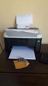 Computador,impressora Brother 1212 E Uma Mesa Seme Nova