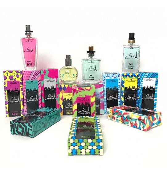 Kit 12 Perfumes Para Revenda Paris Pierry Wermon Atacado