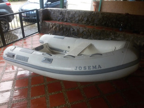 Bote Inflable Marca Caribe Modelo C-9x Con Motor Yamaha 15hp