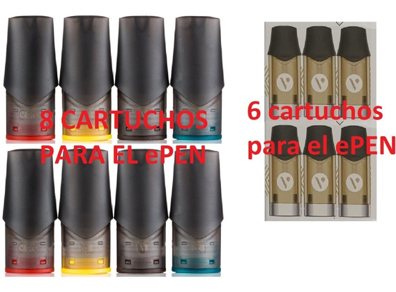 Vype Cartuchos Repuestos / 8 Pack Epen3 Ó 6 Pack Epod2