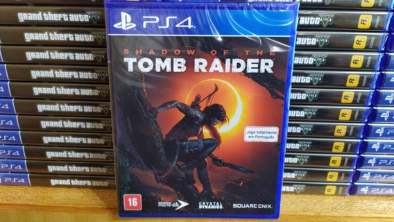 Shadow Of The Tomb Raider Ps4 Mídia Física Português Lacrado