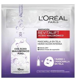 Mascarilla Revitalift Ácido Hialurónico