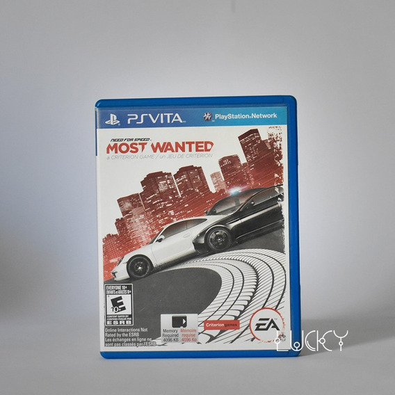 Need For Speed Most Wanted - Psvita