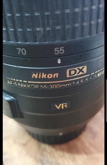 Lente 55-300 Nikon