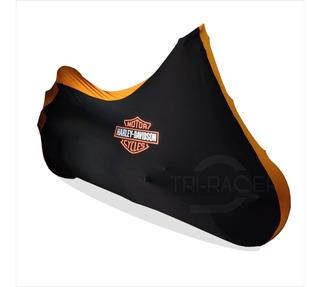 Capa Para Moto Harley Davidson Fatboy V- Rod Tam. G Hd