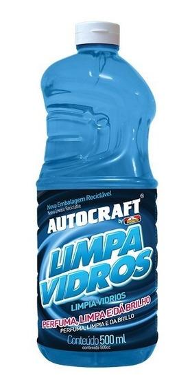 Limpa Vidros Autocraft Proauto - Carro,box E Janelas