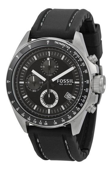 Relógio Fossil Dexter Preto Dial Cronógrafo-ch2573ie