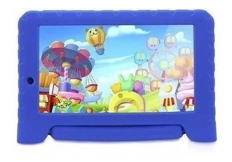 Tablet Multilaser Kid Pad Plus 7 8gb Bluetooh Azul Nb278