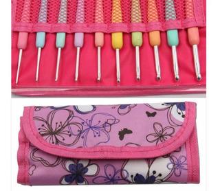Set De Crochet 10 Piezas Y Estuche